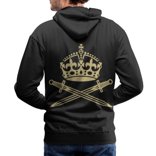 Crown Gold - Men's Premium Hoodie