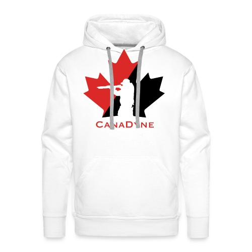 CanaDyne Logo HiRes - Men's Premium Hoodie