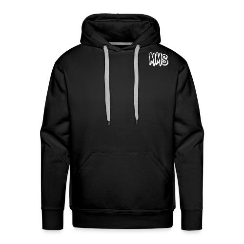 MMS Logo WHITE - Men's Premium Hoodie