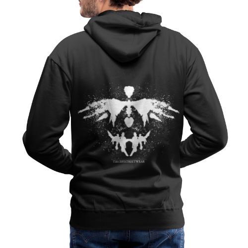 Rorschach_white - Men's Premium Hoodie