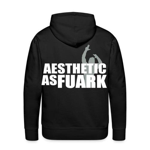 Zyzz Aesthetic as FUARK - Men's Premium Hoodie
