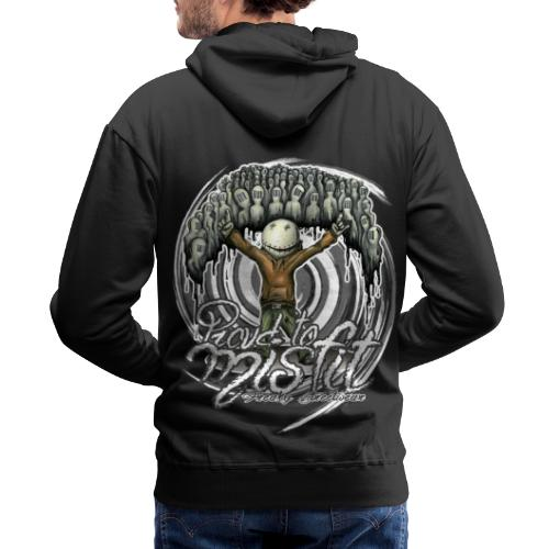 proud to misfit - Men's Premium Hoodie