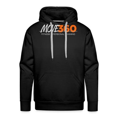 Move360 Logo LightGrey - Men's Premium Hoodie