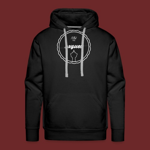 COLLEGE BADGE T - gr - Men's Premium Hoodie