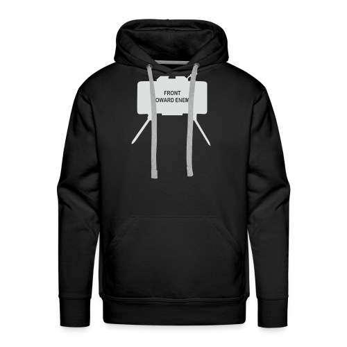 Claymore Mine (Minimalist/Light) - Men's Premium Hoodie