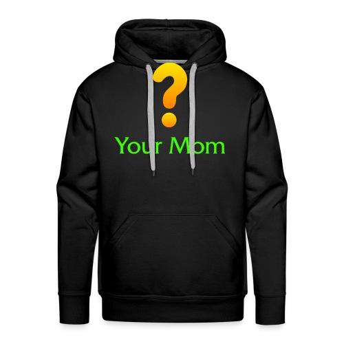 Your Mom Quest ? World of Warcraft - Men's Premium Hoodie