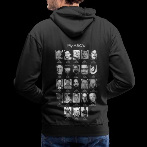 Serial Killer ABCs - Men's Premium Hoodie