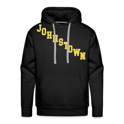 Johnstown Diagonal - Men's Premium Hoodie