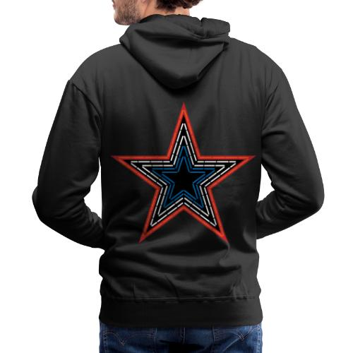 Roanoke Virginia Pride Mill Mountain Star - Men's Premium Hoodie