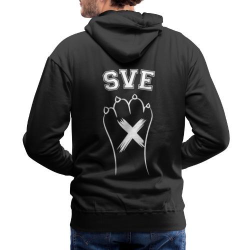 SVE Vegan Straight Edge Montreal SXE - Men's Premium Hoodie
