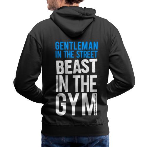 Beast in the Gym - Gym Motivation - Men's Premium Hoodie