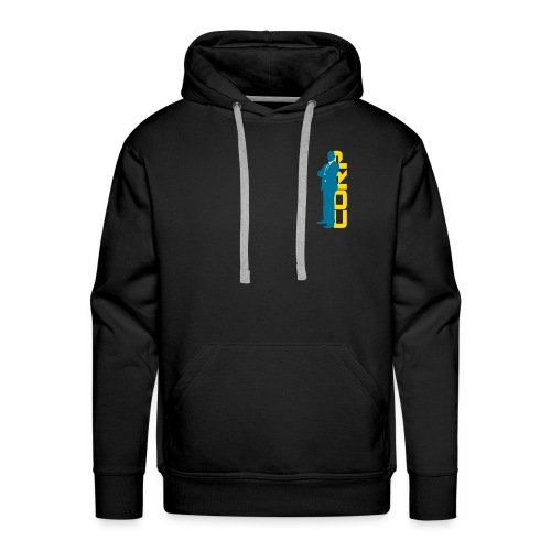 Corp Man 3 Colour 1 - Men's Premium Hoodie
