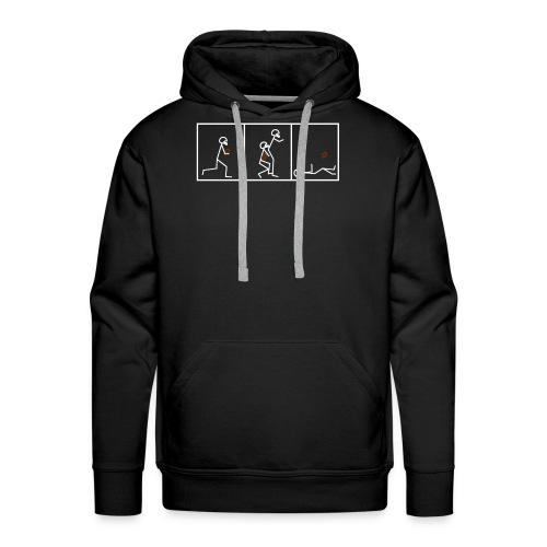 BUTTFUMBLE 6 (With Cartoon) - Men's Premium Hoodie