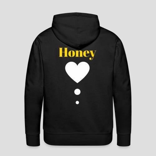 Honey Baby (Yellow & White) - Men's Premium Hoodie