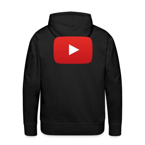 YouTube icon full color png - Men's Premium Hoodie