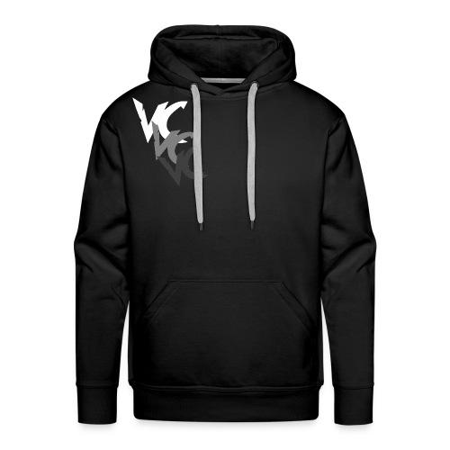 V3L0C1TY Logo T-Shirts - Men's Premium Hoodie