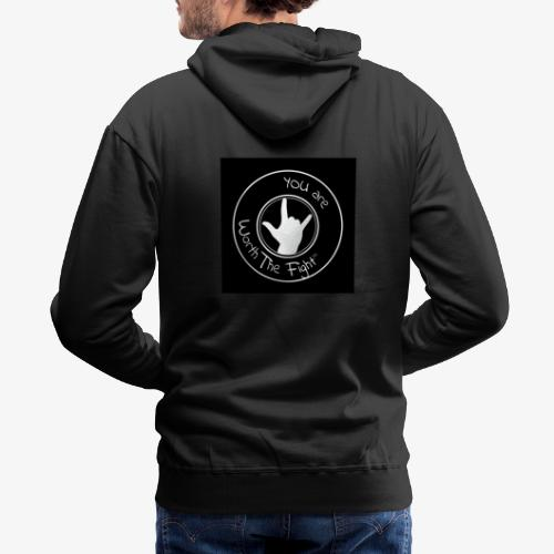 You're Worth The Fight Seal - Men's Premium Hoodie