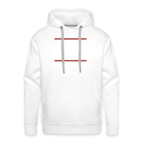 logo2allwhite png - Men's Premium Hoodie