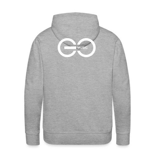 GOMusic logo - Men's Premium Hoodie