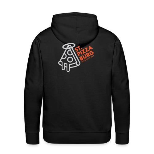 St. Pizzaburg - Dark Colors - Men's Premium Hoodie