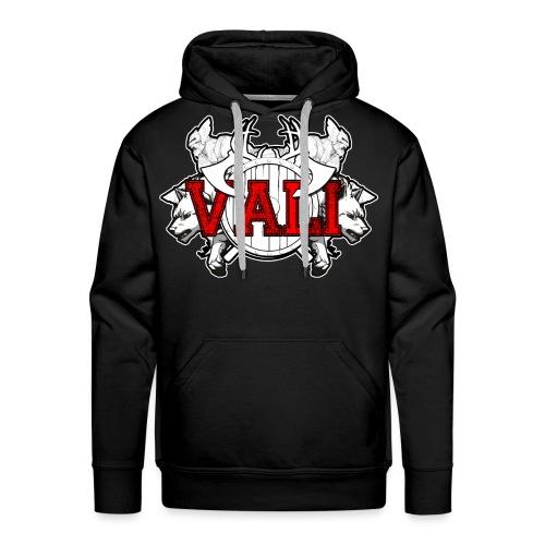 Vali Logo 2 - Men's Premium Hoodie