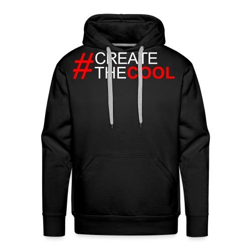 #CreateTheCool - Red - Men's Premium Hoodie