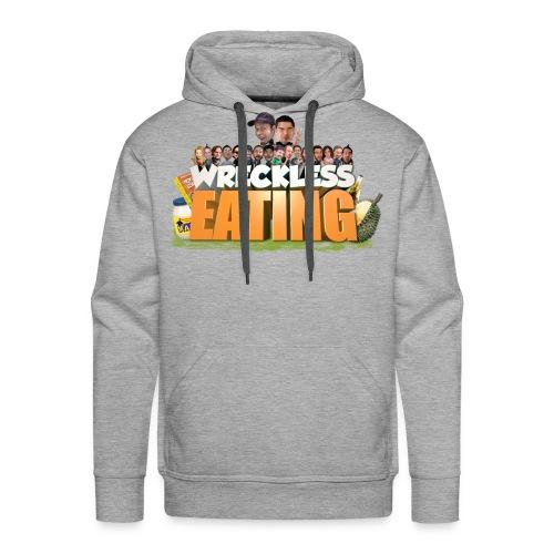 Wreckless Eating Cast Shirt 2015 png - Men's Premium Hoodie