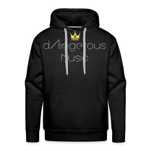 dAingerous Logo PNG png - Men's Premium Hoodie