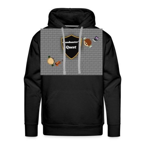 grandmasterquest jpg - Men's Premium Hoodie