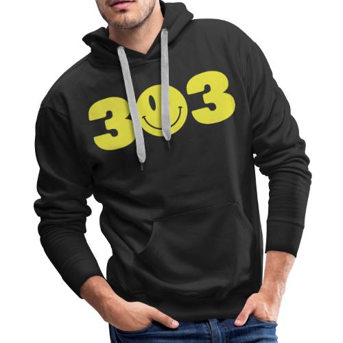 3 Smiley 3 - Men's Premium Hoodie