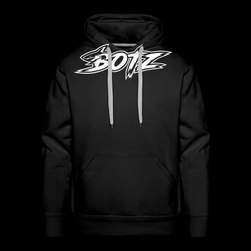 BOTZ White Logo - Men's Premium Hoodie