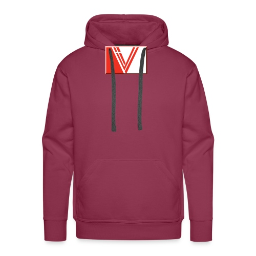 LBV red drop - Men's Premium Hoodie
