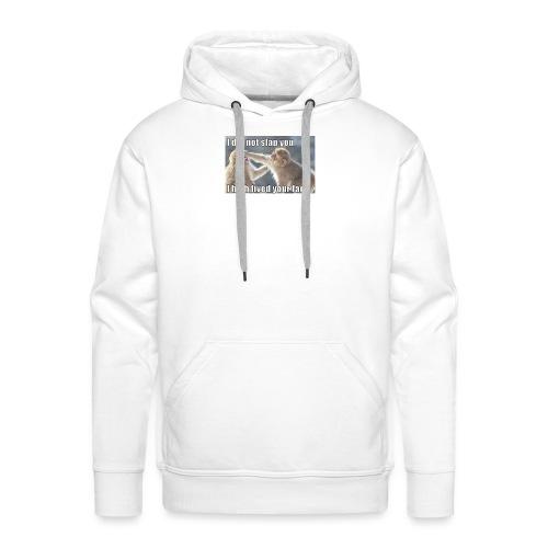 funny animal memes shirt - Men's Premium Hoodie
