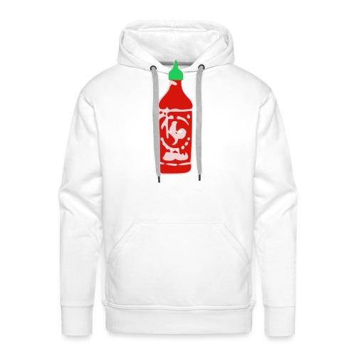 Hot Sauce Bottle - Men's Premium Hoodie