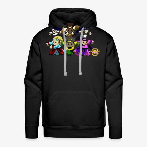 The Guardians of the Cloudgate w/ Logo - Men's Premium Hoodie