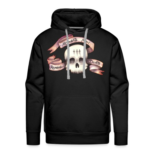 Momento Mori - Remember Death - Men's Premium Hoodie