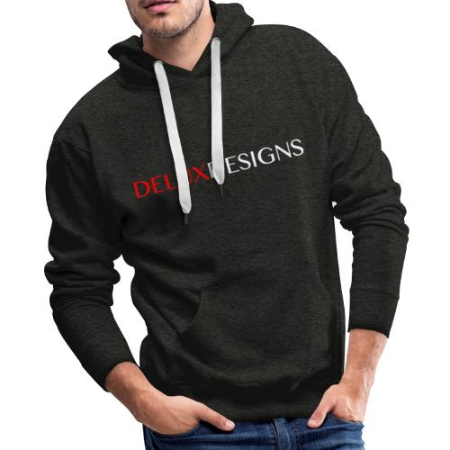 Delux Designs (white) - Men's Premium Hoodie