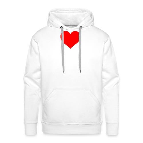 I bear my heart on my body - Men's Premium Hoodie