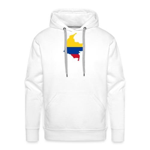 colombia mapa - Men's Premium Hoodie