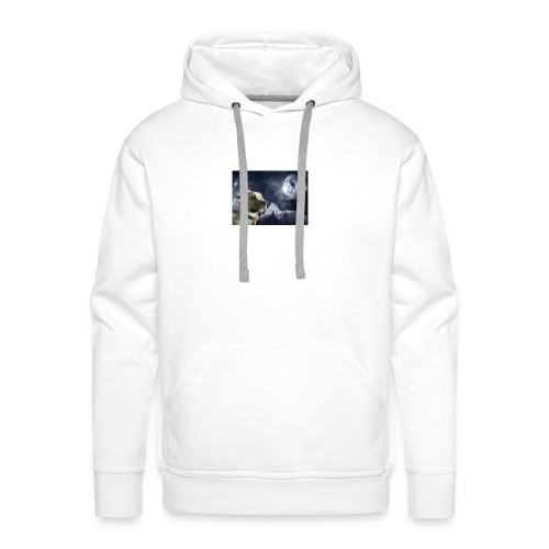 Space Dog - Men's Premium Hoodie