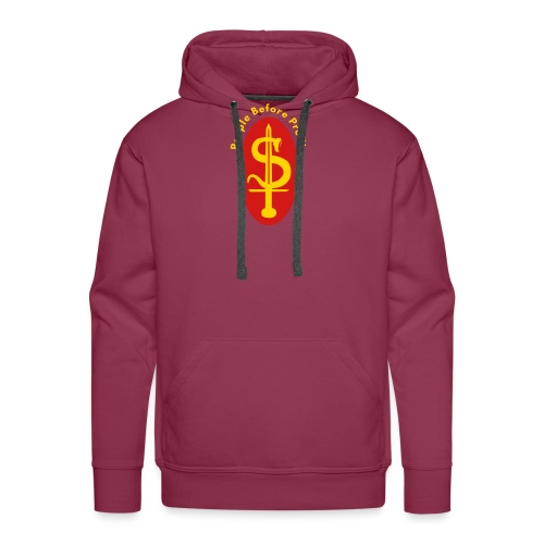 people before profit - Men's Premium Hoodie