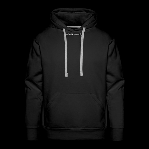 'Black' Aesthetic Anarchy - Men's Premium Hoodie