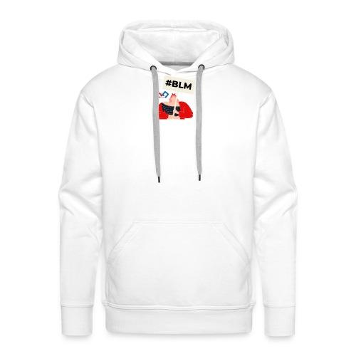 #BLM FIRST Girl Petitioner - Men's Premium Hoodie