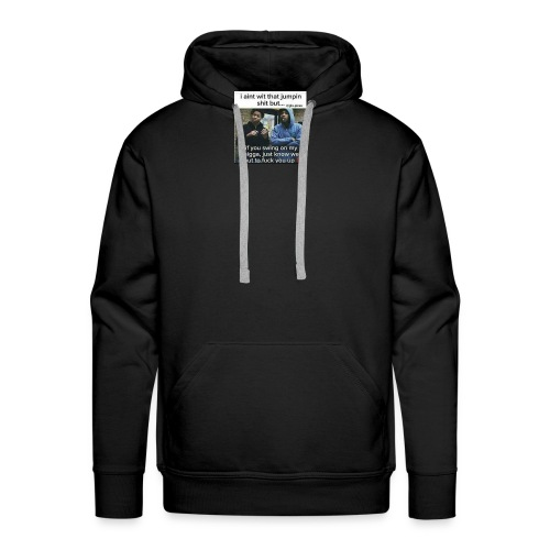 Friends down for friends - Men's Premium Hoodie