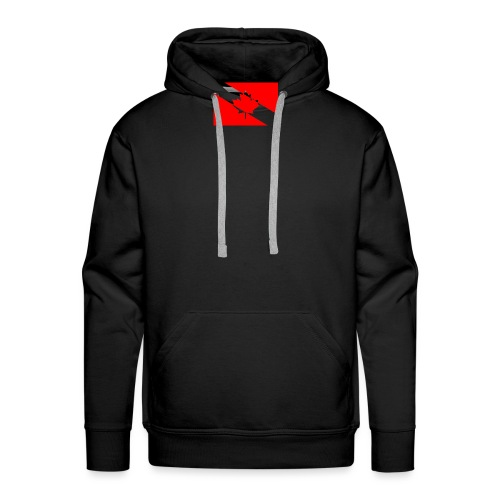 Clear White Dive Canada v. Small - Men's Premium Hoodie