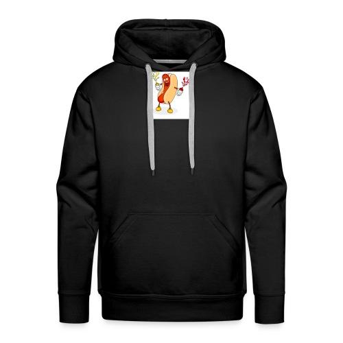 Hot dog t - Men's Premium Hoodie