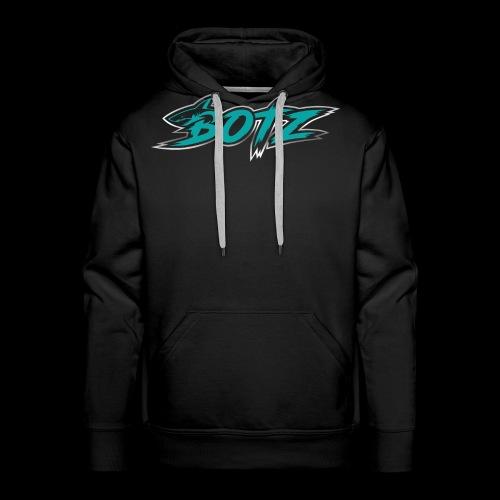 BOTZ Teal Logo - Men's Premium Hoodie