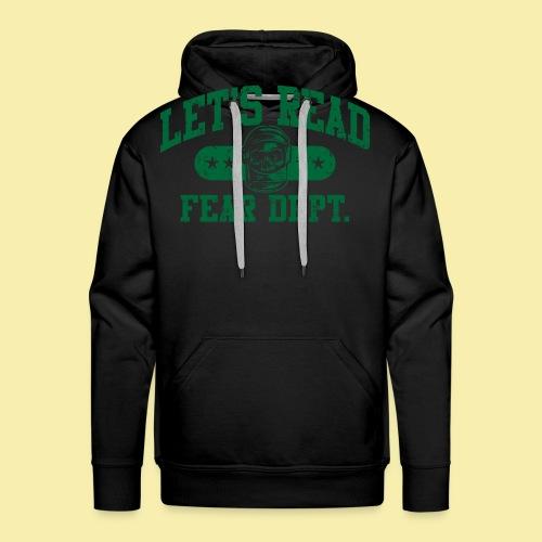 Athletic Green - Inverted for Dark Shirts - Men's Premium Hoodie
