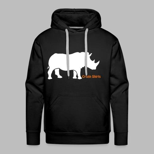 Childrens T-Shirt: Cruzin Rhino - Men's Premium Hoodie