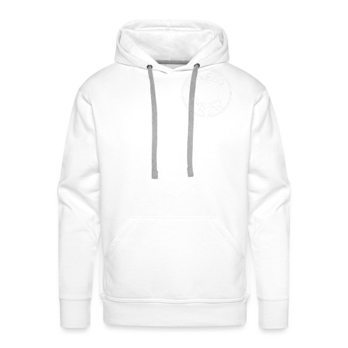 Basic White Logo - Men's Premium Hoodie